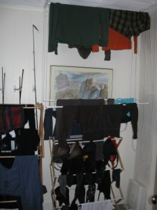 The AirDry-Amped Zero-Footprint Clothes Drying System